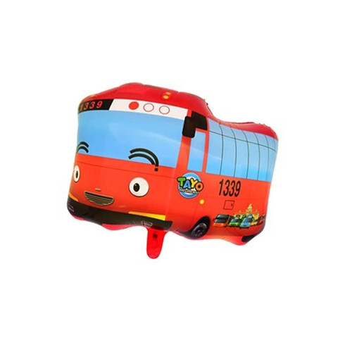 Foto Produk HARGA/PCS BALON foil JUMBO KARAKTER full body mainan anak - TAYO MERAH dari Dunia Plastik 88