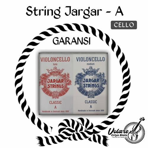 Foto Produk Senar Cello Jargar RED/BLUE bijian (A) - Gudang dari Toko Biola