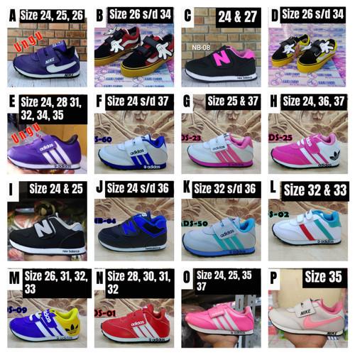 Foto Produk Sepatu Anak Murah Meriah Cuci Gudang Flash Sale dari Alkira Fashion