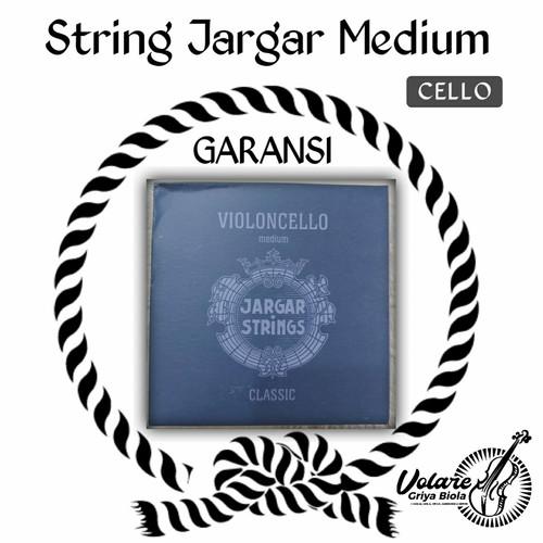 Foto Produk Senar cello jargar biru / blue set - Gudang dari Toko Biola