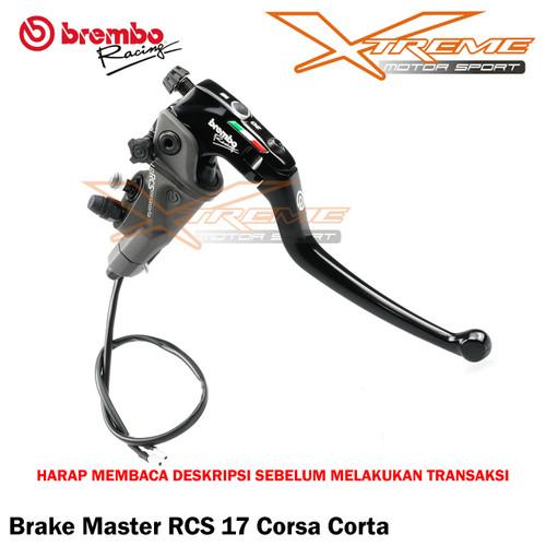 Foto Produk Master Rem Brembo RCS 17 Corsa Corta Ready Stok dari Xtreme Motor Sport