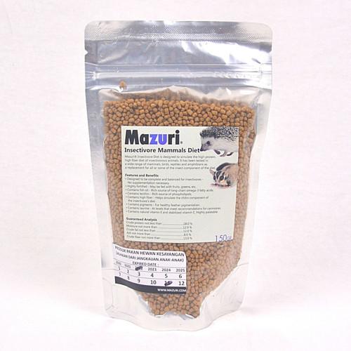 Foto Produk Makanan Landak / Sugarglider MAZURI Insectivore pellet 150gram dari Pet Republic