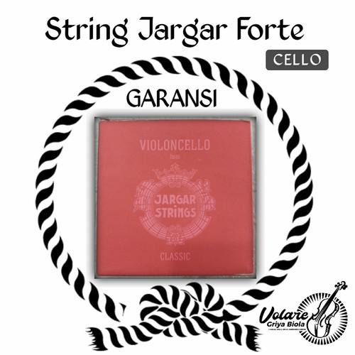 Foto Produk senar cello jargar Red - set - Gudang dari Toko Biola
