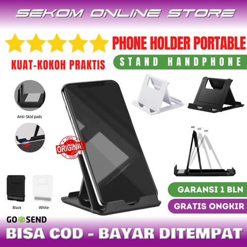 Foto Produk Phone Holder Portable Mini Plastic - Stand Phone & Tablet High Quality dari SEKOM ONLINE STORE