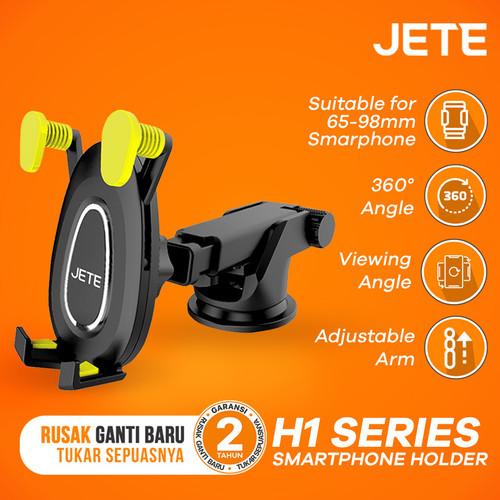 Foto Produk Car Holder Jete H1 Series Universal Smartphone - Kuning dari JETE Official Surabaya