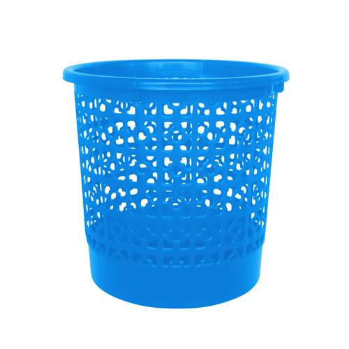 Foto Produk Kiramas Clover Dustbin 1115 - Blue/Tempat Sampah Jaring dari Enportu Home Living