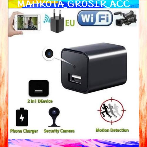 Foto Produk New Spy Camera Wifi Usb Charger Terbaru Full HD 1080P dari Mahkota Grosir Acc