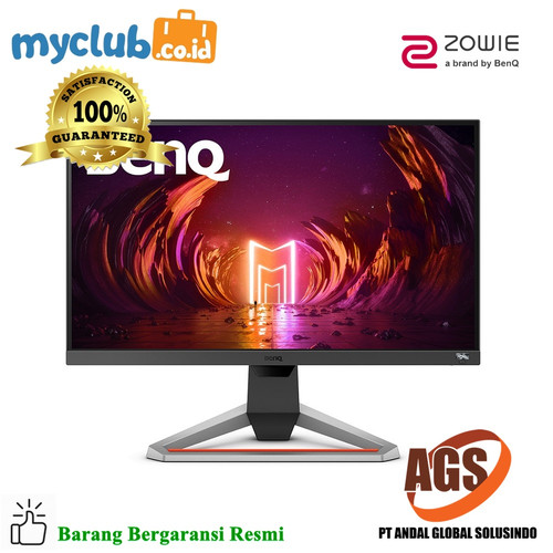 Foto Produk BenQ ZOWIE EX2510 MOBIUZ 1ms IPS 144Hz Gaming Monitor dari Myclub