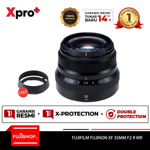 Foto Produk Fujifilm Fujinon XF 35mm F2 R WR - Black dari FUJISHOPid
