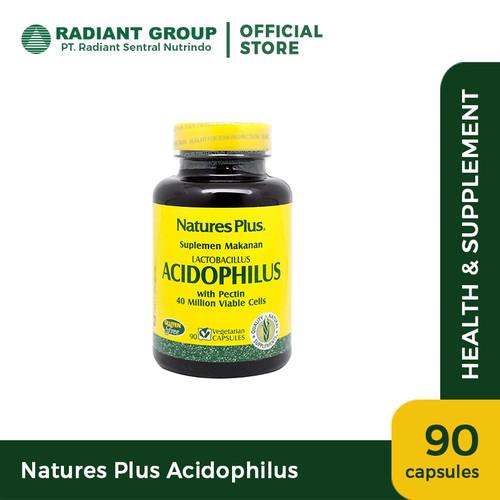 Foto Produk Natures Plus Acidophilus (90) dari Radiant Official Store