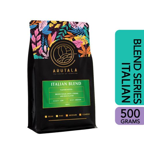 Foto Produk ARUTALA Kopi Italian Blend for Espresso Coffee 500 Gram - Biji dari Arutala Online Co.