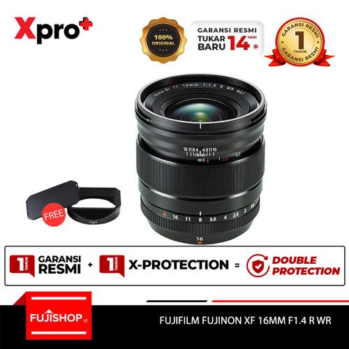 Foto Produk Fujifilm Fujinon Lensa XF16mm f/1.4 R WR - Hitam dari FUJISHOPid