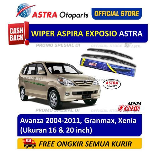 Foto Produk Wiper Blade Hybrid Graphite ASPIRA EXPOSIO: Avanza, Granmax, Xenia dari Astra Otoparts