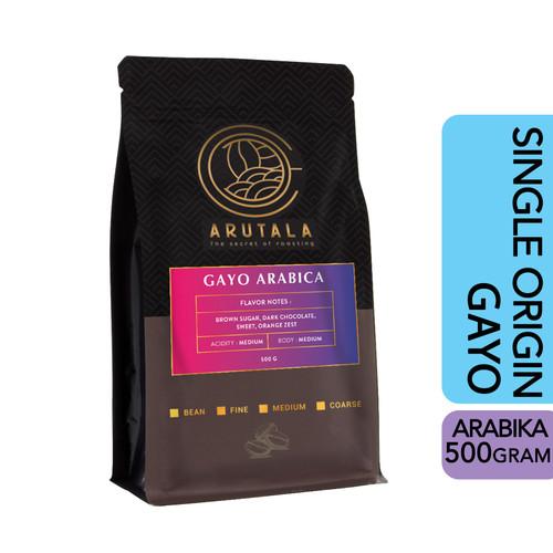 Foto Produk ARUTALA Kopi Gayo Takengon Arabika Arabica Coffee 500 Gram - Giling Kasar dari Arutala Online Co.