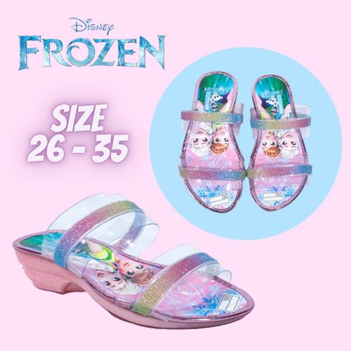 Foto Produk Sendal Anak Perempuan Frozen Pesta Murah 3 4 5 6 Tahun SSP24 - Pink, 26 dari Minho Baby & Kids