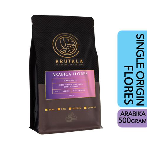 Foto Produk ARUTALA Kopi Flores Bajawa Arabika Arabica Coffee 500 Gram - Biji dari Arutala Online Co.