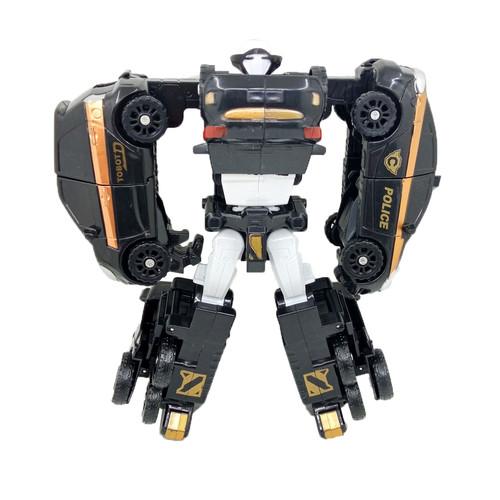 Foto Produk Tobot Quatran Jumbo Hitam 4 in 1 Mainan Mobil Robot Anak Laki Laki dari Grandia Shop