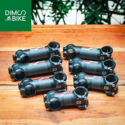 Foto Produk Stem EC90 Carbon Alloy 70mm 80mm 90mm 100mm 110mm   6 17 derajat - 70mm, 6 derajat dari Dims Bike