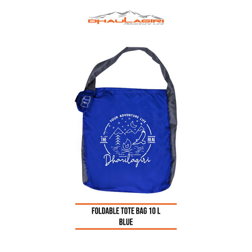 Foto Produk DH Foldable Tote bag 10L - Biru dari Dhaulagiri official