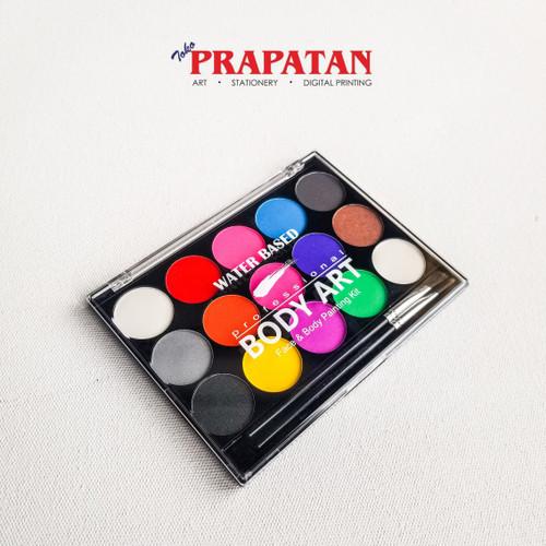 Foto Produk Professional Body Art Face and Body Painting / Cat Wajah / Cat Kulit dari Toko Prapatan-alat lukis