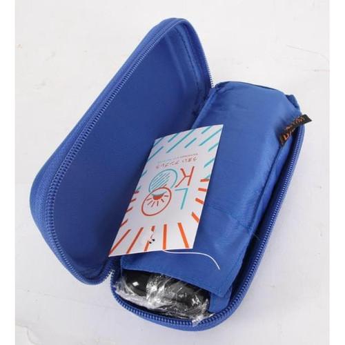 Foto Produk LOKO Payung Dompet New. Lipat Mini Ukuran Kotak Kacamata. - Biru dari Langit Biru