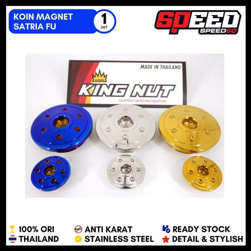 Foto Produk Koin Magnet Blok Satria FU & Satria FU Injeksi Gold Blue Silver Thaila - Satria FU, Putih dari speed60