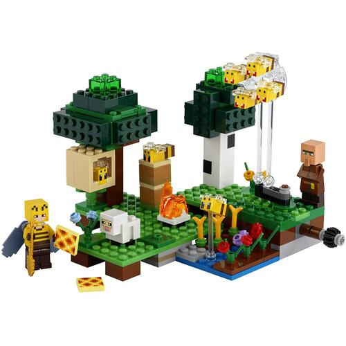 Foto Produk Minecraft The Bee Farm Compatible Lego dari Wil Toys