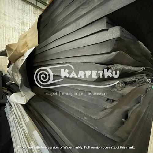 Foto Produk Eva Sponge / Busa Hati / Spon Ati – HITAM (160 X 270) *HARGA PER MM* dari KarpetKu Official