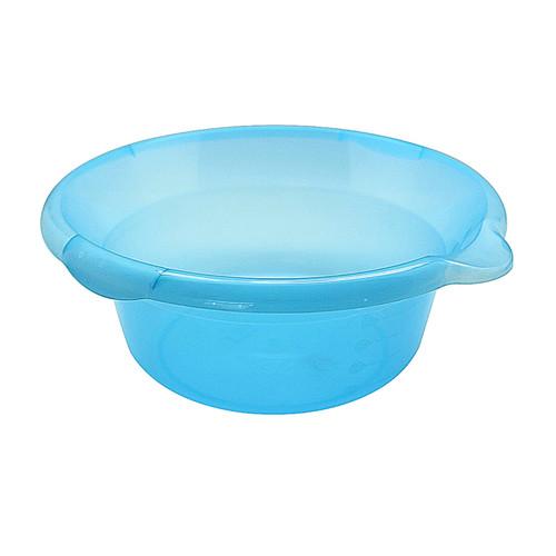 Foto Produk Kiramas Baskom UFO 6,2 Liter 3216 - Blue/Wadah Makanan Transparan dari Enportu Home Living
