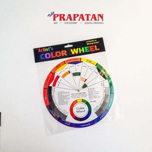 Foto Produk Color Wheel for Mixing Guide dari Toko Prapatan-alat lukis