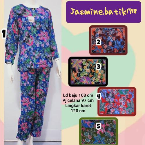 Foto Produk SETELAN CELANA PJ TANGAN PANJANG SUNAN KENCANA UNGU dari jasmine.batik1718
