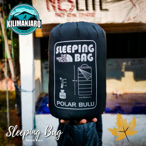 Foto Produk SB Sleeping Bag Polar Bulu Super Tebal Super Hangat - Hitam dari Kilimanjaro Outdoor
