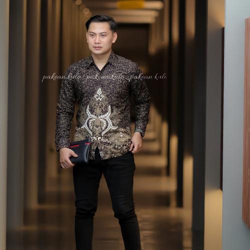 Foto Produk Batik Pria Premium Slimfit 032 - M dari Pakean kulo