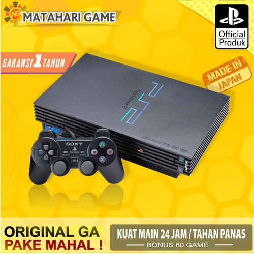 Foto Produk Sony PS2 - PS2 Fat Hardisk External 40Gb + FULL 60 game + FREE GARANSI dari MatahariGame