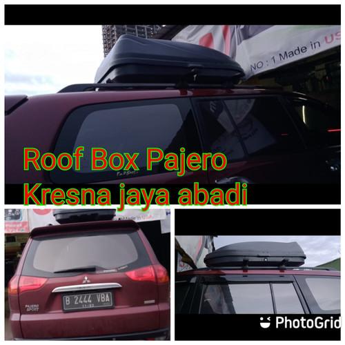 Foto Produk ROOF BOX PAJERO LAMA DENGAN KAPASITAS BESAR dari KRESNA CAR ACCESORIES