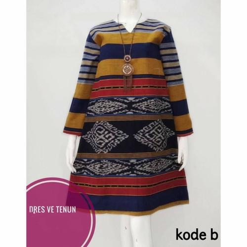 Foto Produk seragam batik kantor tunik tenun etnik dari Batik Sri