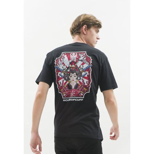 Foto Produk Kaos hitam t shirt polos houseofcuff motif Samurai READY HINGGA 4XL dari House of Cuff
