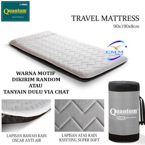 Foto Produk Kasur Lipat Quantum / Travel Bed / Kasur Gulung 90x190x8cm ORIGINAL - Kasur Aja dari CMM Store ID
