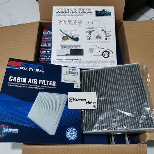 Foto Produk Ac Filter KEN Carbon-C(SaringanAC) Honda Mobilio, Brio satya, BRV, HRV - D1937 C Black dari Herman_motorengineer