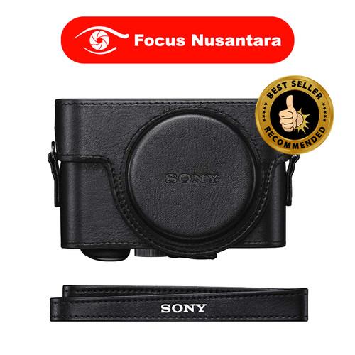Foto Produk SONY LCJ-RXK Case For DSC-RX100 (Black) dari Focus Nusantara