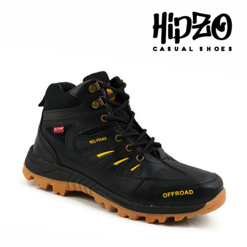 Foto Produk Sepatu Pria Hiking Sepatu Boots Pria Sepatu Cowok Sepatu Riding Hiking - Hitam, 39 dari Hipzo Official Shop