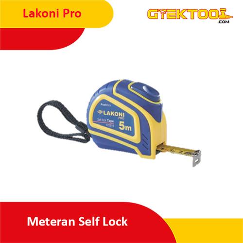 Foto Produk LAKONI PRO Meteran Auto 5m x 19mm / Measuring Tape Self Lock 172519 dari Gtek Tool