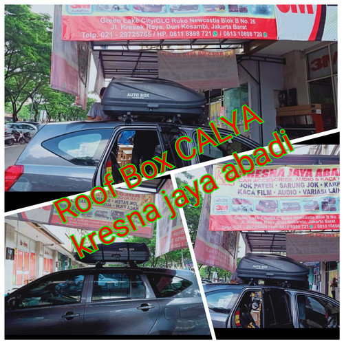 Foto Produk ROOF BOX CALYA SIGRA DENGAN KAPASITAS BESAR dari KRESNA CAR ACCESORIES
