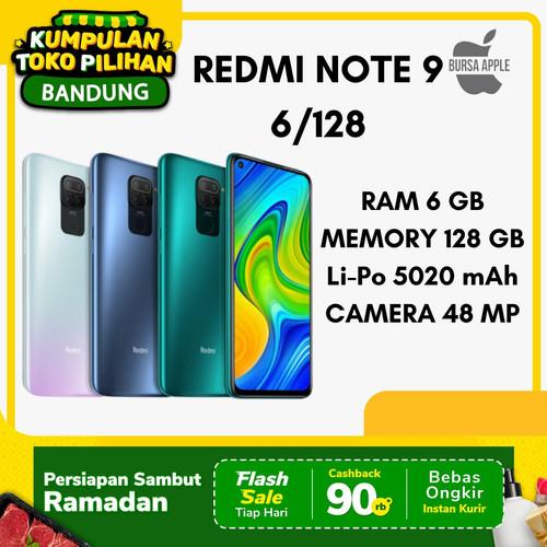 Foto Produk Xiaomi Redmi Note 9 6/128 GB 6GB 128GB Garansi Resmi Xiaomi Indonesia - Putih dari BursaApple