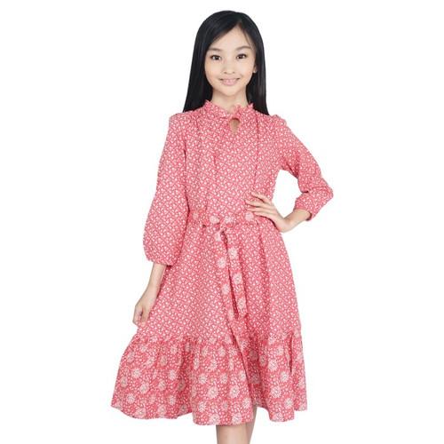 Foto Produk KIDS ICON - Dress Semi Muslim Anak CURLY 04-14 Thn - LYD01300200 - 4 thn dari Kids Icon