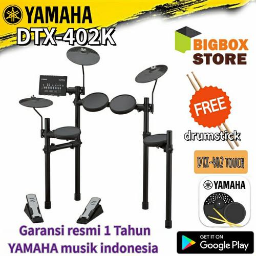 Foto Produk Elektrik Drum Yamaha DTX-402K / DTX402K/ DTX 402K / DTX 402 dari BigBox store