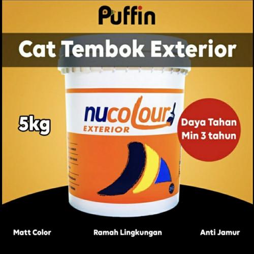 Foto Produk Cat tembok Nucolour Exterior 25kg daya tahan min 3 tahun dari PuffinInsectGuard