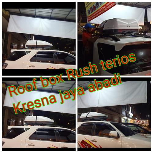 Foto Produk ROOF BOX RUSH TERIOS DENGAN KAPASITAS BESAR dari KRESNA CAR ACCESORIES