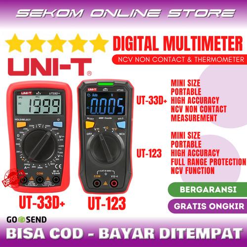 Foto Produk UNI-T Mini Digital Multimeter Multitester Temperature & NCV NonContact dari SEKOM ONLINE STORE