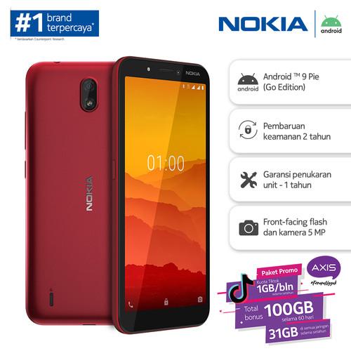Foto Produk Nokia C1 1/16GB - Red dari Nokia Mobile Official